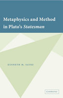 Metaphysics and Method in Plato's Statesman