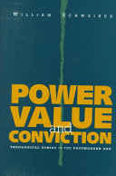 Power, value, and conviction