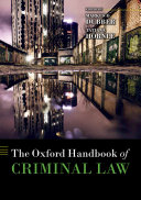 Pdf The Oxford Handbook of Criminal Law Telecharger