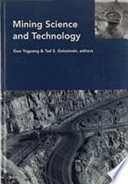 Mining Science and Technology 1996 Book
