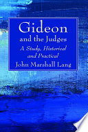 Gideon and the Judges Book PDF