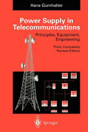Power Supply in Telecommunications Book