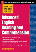 Practice Makes Perfect Advanced ESL Reading and Comprehension (EBOOK)
