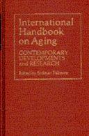 International Handbook on Aging Book