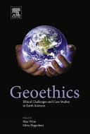 Geoethics