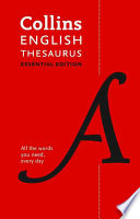 Collins English Thesaurus: Essential Edition