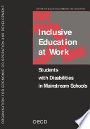 Inclusive Education at Work Students with Disabilities in Mainstream Schools