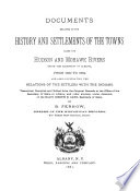 Documents Relative to the Colonial History of the State of New York  new ser   v  2   Documents relating to the history and settlements of the towns along the Hudson and Mohawk rivers  with the exception of Albany   from 1630 to 1684  1881