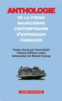 Pdf Anthologie de la poésie mauricienne contemporaine d'expression française Telecharger