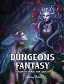 Dungeons Fantasy Coloring Book for Adults