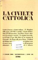 La Civiltà cattolica