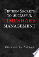 Fifteen Secrets To Successful Timeshare Management Book PDF