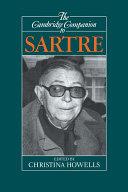 The Cambridge Companion to Sartre