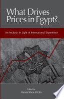 What Drives Prices in Egypt