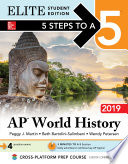 5 Steps to a 5  AP World History 2019 Elite Student Edition Book