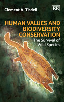 Human Values and Biodiversity Conservation