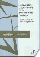 Reinventing Government for the Twenty first Century Book