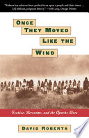 Once They Moved Like The Wind Book