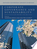 Corporate Governance and Sustainability