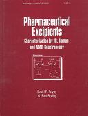 Pharmaceutical Excipients Book PDF