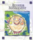 Cover of Behavior Management