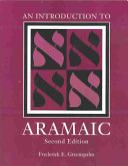 An Introduction to Aramaic