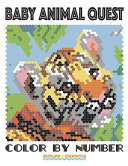Baby Animal Quest Color by Number