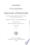 Chambers S Cyclopaedia Of English Literature0
