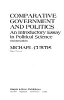 comparative government and politics an introductory essay in comparative government and politics an introductory essay in political science