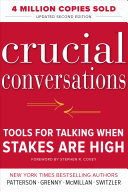 Pdf Crucial Conversations Tools for Talking When Stakes Are High, Second Edition