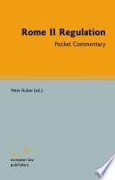 Rome II Regulation