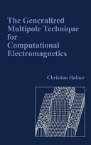 The Generalized Multipole Technique for Computational Electromagnetics Book