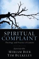 Pdf Spiritual Complaint