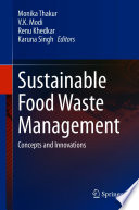 Sustainable Food Waste Management Book