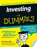 """""""Investing For Dummies"""" by Eric Tyson"""