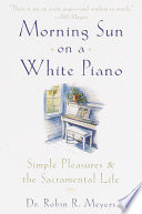 Morning Sun on a White Piano Book