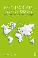 Managing Global Supply Chains Pdf/ePub eBook