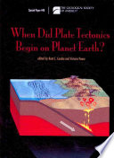 When Did Plate Tectonics Begin On Planet Earth