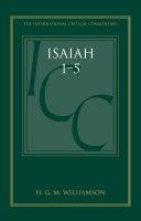 Isaiah 1 5  ICC