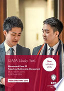 CIMA - E2 Project and Relationship Management