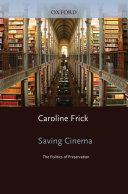 Saving Cinema Pdf/ePub eBook