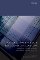 Intellectual Property, Trade and Development