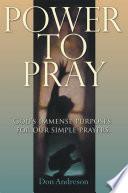 Power to Pray