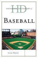 Historical Dictionary of Baseball [Pdf/ePub] eBook