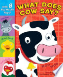 What Does Cow Say