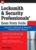 Locksmith and Security Professionals  Exam Study Guide