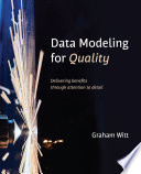 Data Modeling for Quality Book