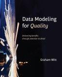 Data Modeling for Quality
