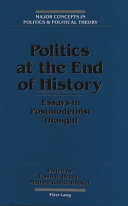 Politics at the End of History