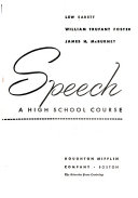 Speech  a High School Course
